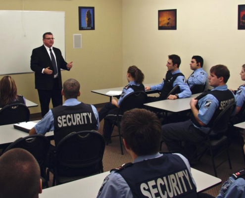 Security Training Classroom