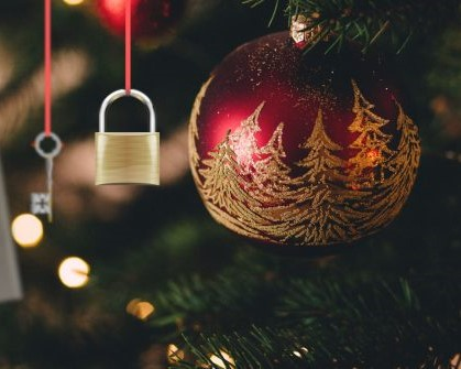 Christmas Security Image
